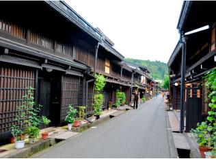 飛騨高山・古い町並み